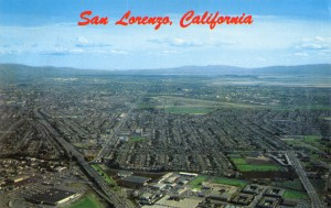 Aerial View of San Lorenzo, California