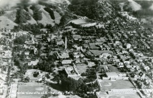 Aerial View of U. C. Berkeley, California