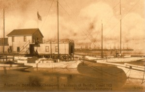 Alameda Boat Club, Champion Oarsmen of Pacific Coast 1913, Alameda, California