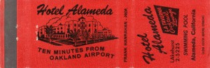 Alameda Hotel, Swimming Pool, Alameda, California