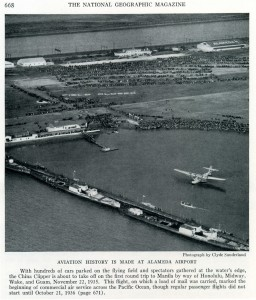 Alameda Airport, National Geographic Magazine Article, December 1936