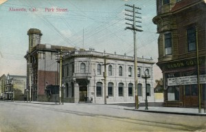 Alameda, Cal., - Park St., mailed 1924