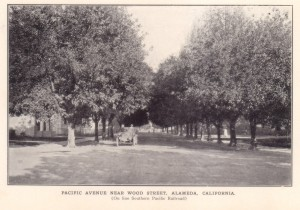 Pacific Avenue Near Wood Street, Alameda, California
