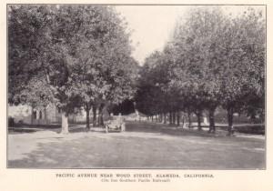 Pacific Avenue Near Wood Street, Alameda, California