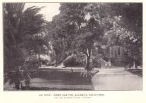 An Ideal Home Garden, Alameda, California