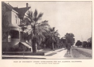Foot of University Street Overlooking the Bay, Alameda, California
