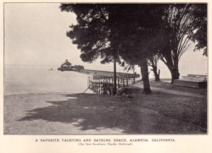 A Favorite Yachting and Bathing Beach, Alameda, California