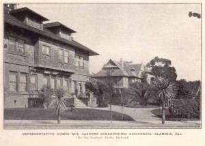 Representative Homes and Gardens Surrounding Residences, Alameda, Cal.