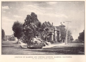 Junction of Alameda and Central Avenues, Alameda, California