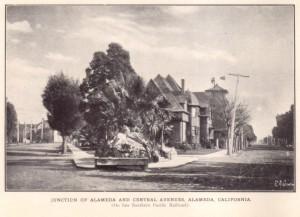 Junction of Alameda and Central Avenues, Alameda, California