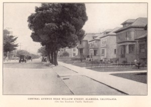 Central Avenuen Near Willow Street, Alameda, California