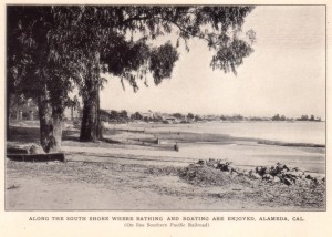 Along the South Shore where Bathing and Boating are Enjoyed, Alameda