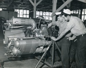 Navy Jet Repair Station, Naval Air Station, Alameda, California, April 11, 1947