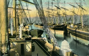 Alaska Packers' Fleet in Harbor, Oakland, Cal.