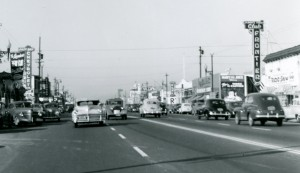 Albany, California circa 1940s, Club Frontier, East Bay Chevrolet