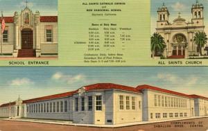 All Saints Catholic Church and New Parochial School, Hayward, California