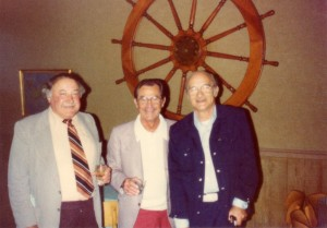 Andy, Mike and Tony, Grotto Owners, circa 1970s