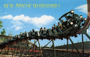 Apache Whildwind ride at Frontier Village, San Jose, California