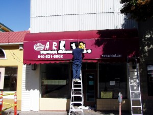 Ark Restaurant, 1405 Park St., Alameda, California, Aug., 2004