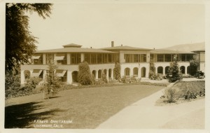 Arroyo Sanitarium, Livermore, California
