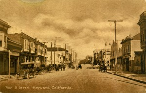 """B"" Street, Hayward, California"