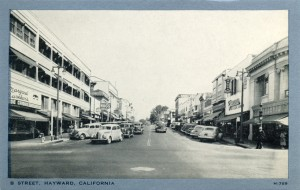 B Street, Hayward, California