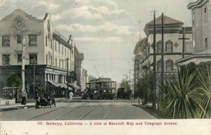 Bacroft Way and Telegraph Avenue Berkeley California 787