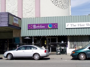 Barceluna Restaurant, 2319 Central Ave., Alameda, California, March 2004