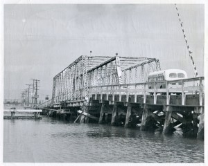Bay Farm Island Bridge, Alameda, California, March 23, 1950