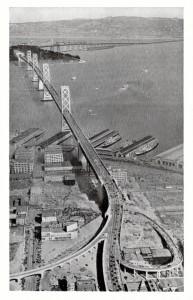 Bay Bridge Approach San Francisco