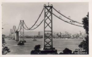 San Francisco - Oakland Bay Bridge from Yerba Buena