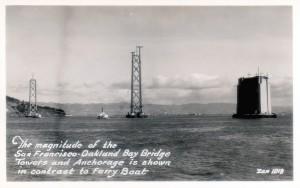San Francisco - Oakland Bay Bridge, Towers and Anchorage