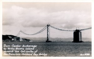 San Francisco - Oakland Bay Bridge, Center Anchorage