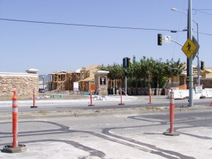 Bayport Site, from Atlantic Ave., Alameda, California, April 2004