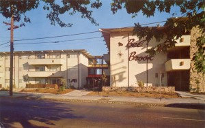 Bel Brook, furnished and unfurnished 1 and 2 bedroom apts., 77 Eastbrook St., San Leandro, Calif.