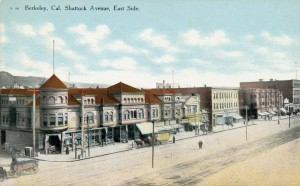 Shattuck Avenue, East Side, Berkeley, California