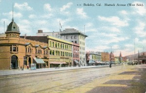 Shattuck Avenue, West Side, Berkeley, California