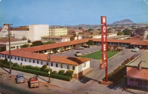 Berkeley Plaza Motel, 1175 University, Ave., Berkeley, California