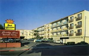 Best Western, Berkeley House Motor Hotel, 920 University Ave., Berkeley, CA