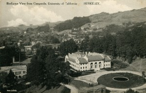 Bird's-eye View from Campanile, University of California, Berkeley