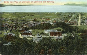 Bird's-Eye View of University of California and Berkeley