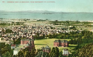 Birdseye View of Berkeley, from University of California
