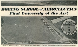 Boeing School of Aeronautics, Oakland Airport, Western Flying August 1929