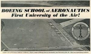 Boeing School of Aeronautics, Oakland Airport, Western Flying August 1929