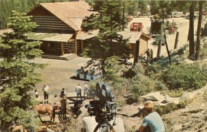 Bonanza Production Crew in Action, Ponderosa Ranch, Incline Village, Nevada
