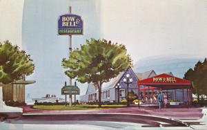 Bow and Bell, 31 Jack London Square, Oakland, California, 1968