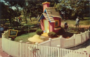 Brick House of the Three Little Pigs, Children's Fairyland, Oakland, California