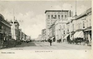 Broadway, Oaklanld, Cal.