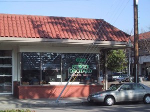 Burger Orchard, 3211 Encinal Ave., Ste A, Alameda, California
