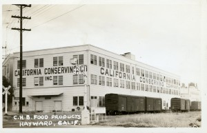 C. H. B. Food Products, Hayward, California